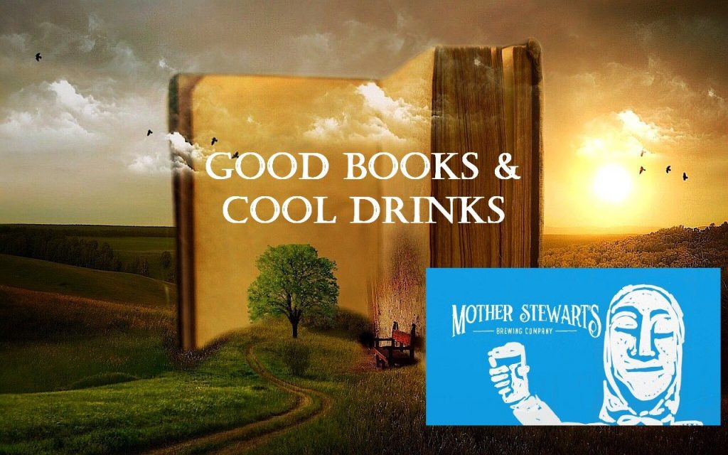 Good book cool drinks