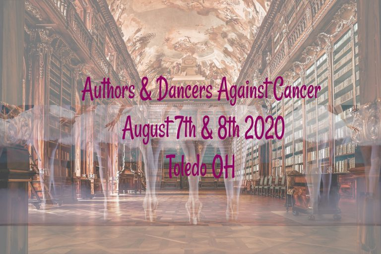 Authors and dancer against cancer
