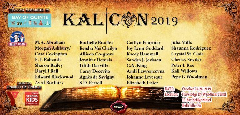 Kalicon Authors