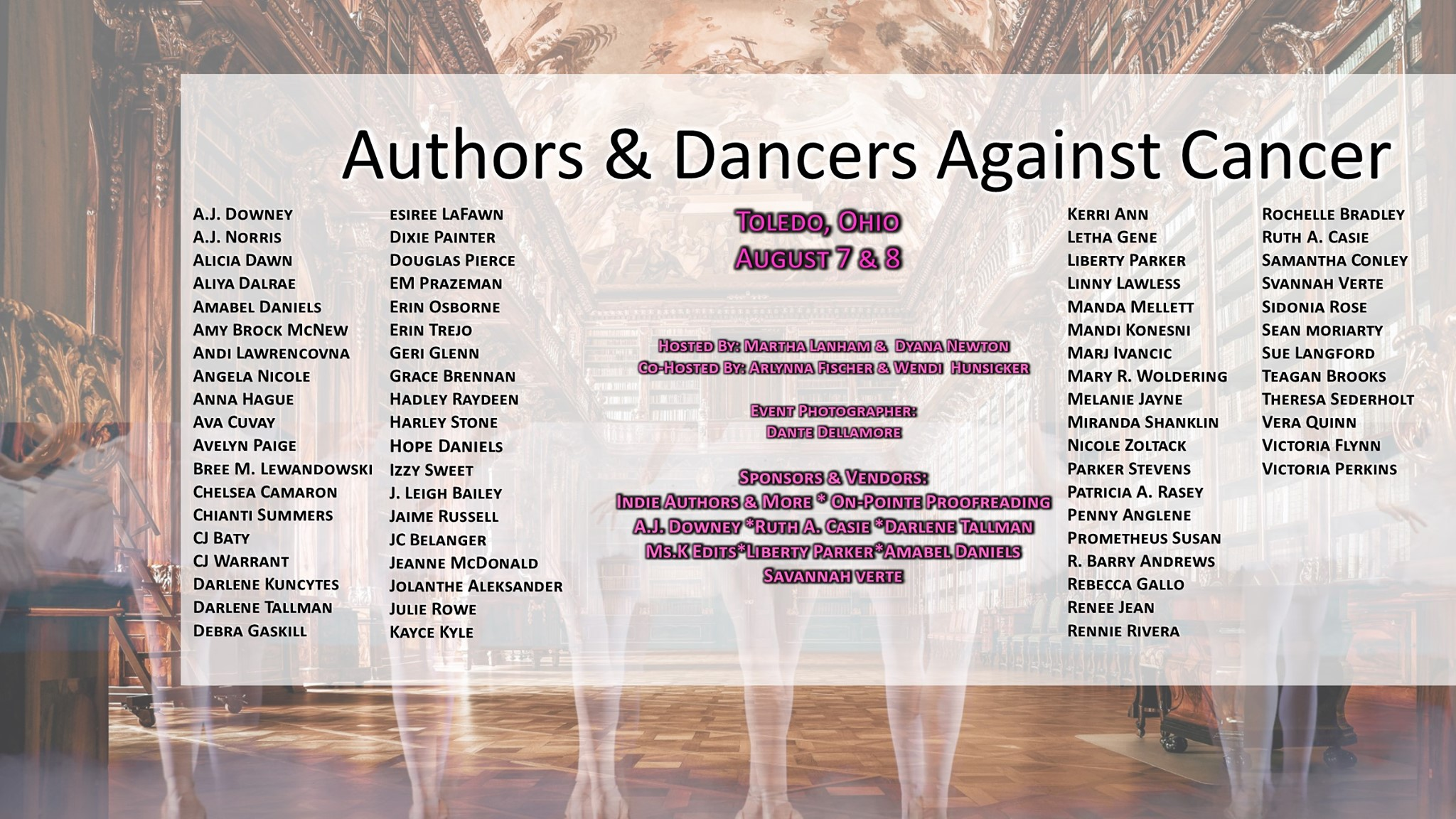 Authors for Authors & Dancers